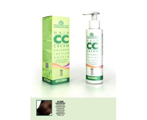 CC Cream hair conditioner revives color chocolate 606